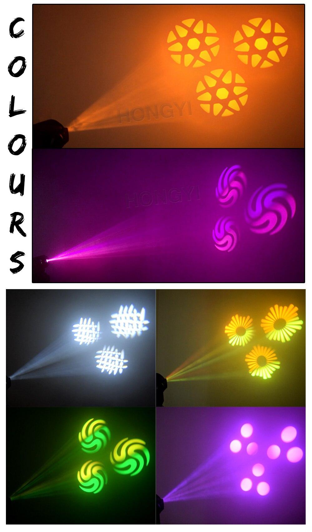 mini led ponto movendo a cabeça luzes