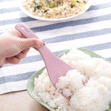 Пшеничная солома рисовая ложка с ручкой рисоварка рисовая Лопата кухонные принадлежности аксессуары для украшения дома