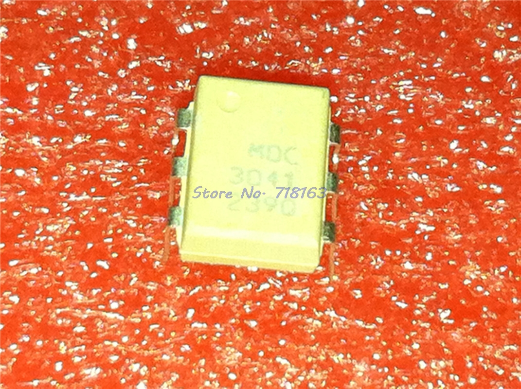 10pcs/lot MOC3041 3041 DIP-6 In Stock