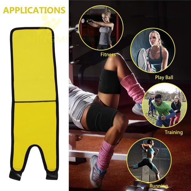 NINGMI Slim Thigh Trimmer Leg Shapers Fajas Slender Slimming Belt Neoprene Sweat Shapewear Toned Muscles Band Thigh Slimmer Wrap 4