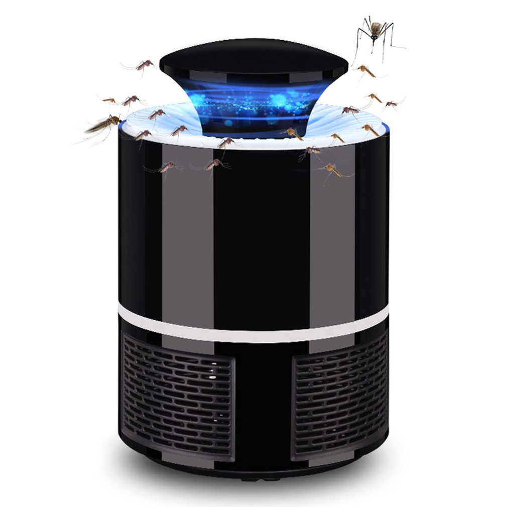New Summer Mosquito Killer Lamp USB Electric No Noise No Radiation Insect Killer Flies Trap Lamp Anti Mosquito Lamp Home