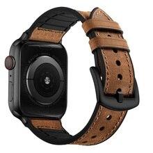 Браслет Correas для apple watch, ремешок из 5 кожаных петель, браслет cinturino для iWatch i watch, ремешок серии 4, 44 мм, 42 мм, ремешок на руку