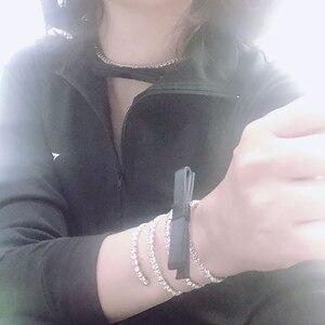 Image 2 - 2020 حار ماركة مجوهرات الأزياء مجموعة للنساء الربيع Bowknot مجموعة مجوهرات حفلة المختنق أساور زينة Bowknot موضة مجوهرات مجموعة