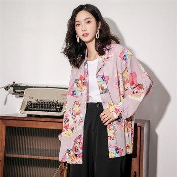 """""""Mémoires d'une geisha"""" vintage japonais fée chemise à manches longues à l'automne"""