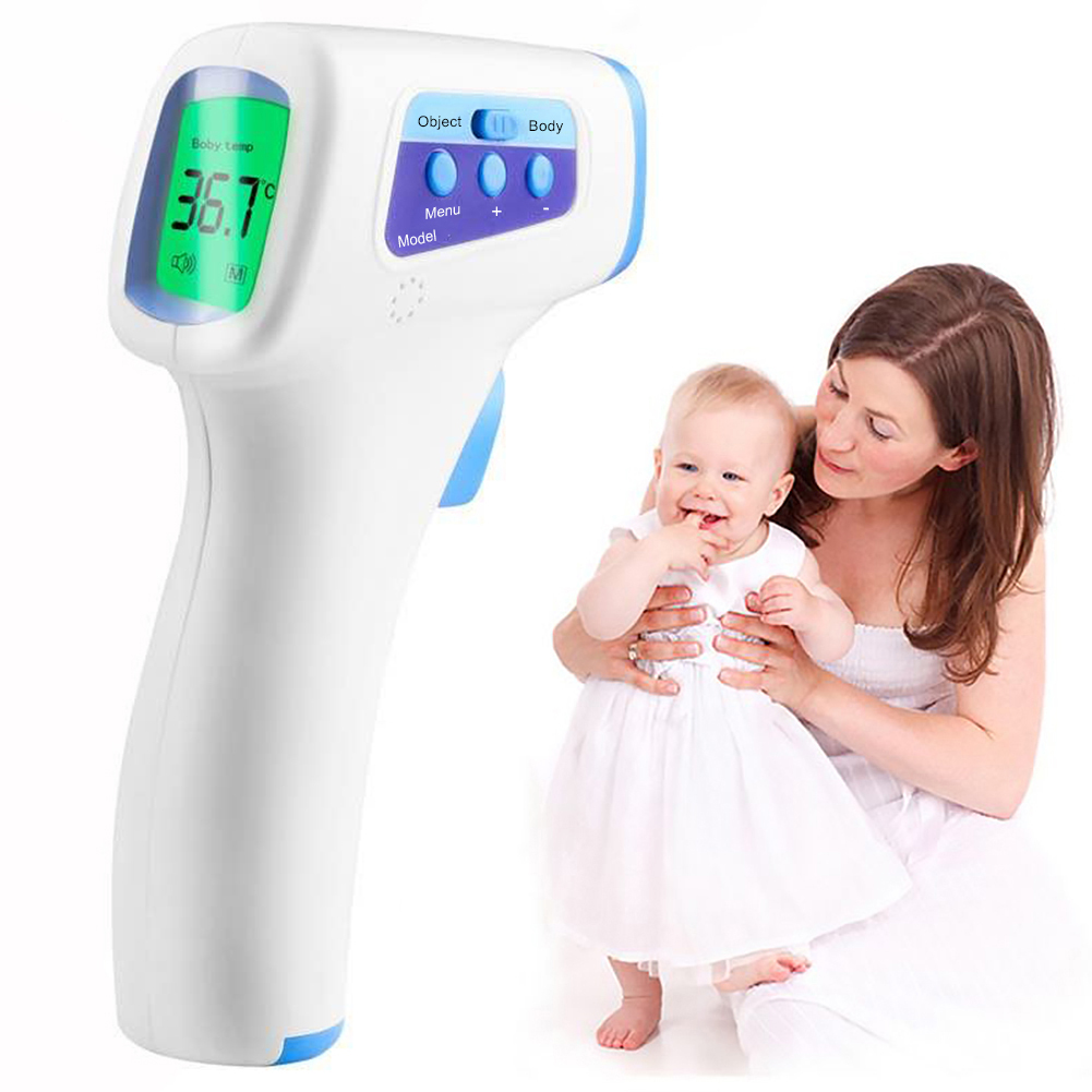 Infrared Forehead Body Thermometer Adult Baby Digital Infrared Thermometer Gun Non-contact Body Temperature Measurement Device