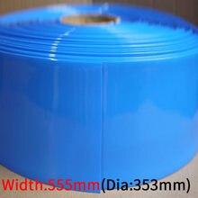 Допустимое отклонение диаметра 353 мм ПВХ термоусадочная трубка