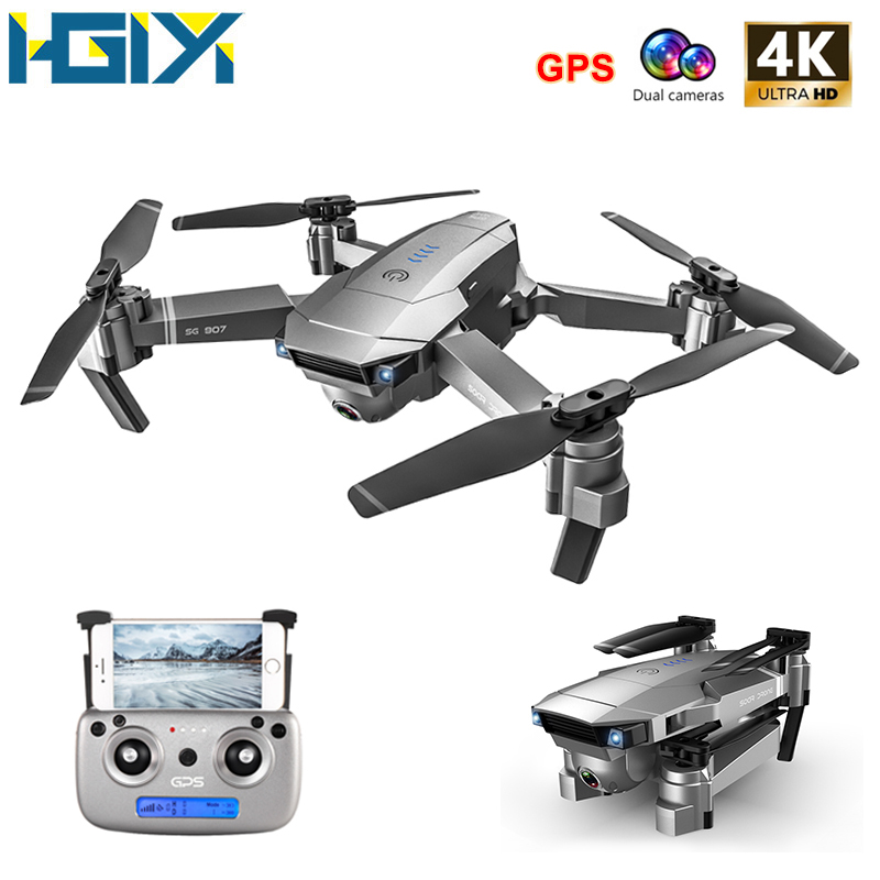 HGIYI SG907 SG901 GPS Drone 1080P 4K HD Dual Camera Optical Flow WIFI FPV Professional RC Drone Foldable Quadcopter Helicopter