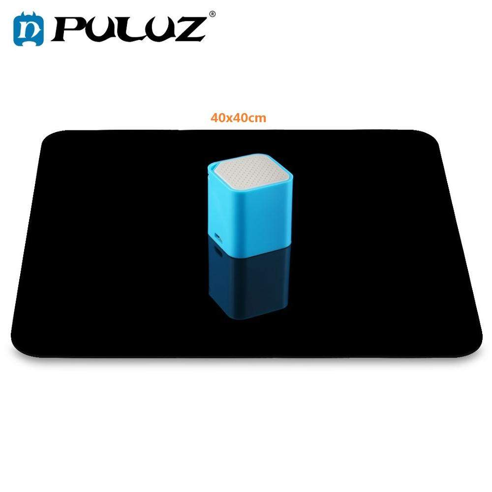 PULUZ 40x40cm Reflective White  amp  Black Acrylic Reflection Background Display Boards for Product Table Top Photography Shooting