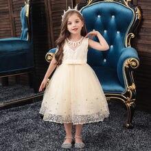 Платье принцессы; Костюм для девочек; Рождественское платье;