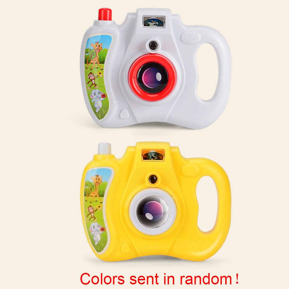 Забавный Интеллектуальный светильник проектор камера игрушка подарки пластик