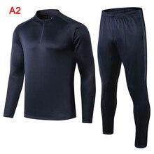 Франция мужская тренировочная футбольная Спортивная Джерси куртка спортивный костюм наборы футбольные костюмы футбол для бега и футбола Мужская одежда для бега