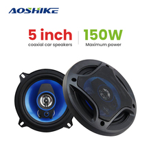 2PCS 5Inch 150W 3 Way Coaxial Car Speaker 4Ohm Auto Automobi