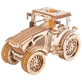 392Pcs DIY Hand-Made Tractor 3D Wooden Puzzle Toy Hand Made Jigsaw Gift For Children Educational Toys Birthday Christmas - discount item  58% OFF Games And Puzzles