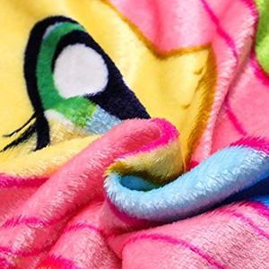 Image 4 - Cartoon my little pony Coral Fleece Plush Single Fall Blanket For Bed Sleeping Cover Bedding Unicorn Throw Blanket unicorn