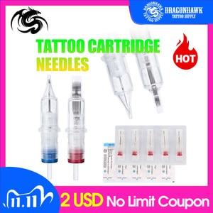Image 1 - Gran oferta 10 Uds cartucho de tatuaje de maquillaje semipermanente desechable aguja RL pistola de tatuaje suministros 1RL/3RL/5RL/7RL/9RL/11rl 010