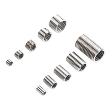 150pcs Stainless Steel Helicoil Thread Repair Insert Kit M3 M4 M5 M6 M8 Nut Kit Crew Sleeve Set Replacement X37E