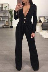2017 Европа и Америка новые продукты Amazon EBay горячие модели одна пуговица большой v-образным вырезом Slim Fit костюм только для женщин