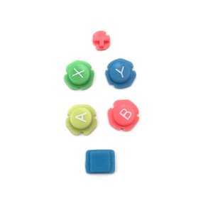 Image 3 - Colorful ABXY Directions Keys Buttons Joystick for Nintendo Switch NS NX Controller Joy con Left Right Controller