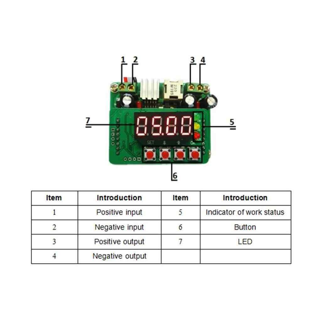 Bộ Điều Chỉnh điện áp B3603 Mini DC-DC Điều Khiển Kỹ Thuật Số Chức Mô Đun Công Suất Có Thể Điều Chỉnh Cung Cấp Module Đầu Vào 6 V-40 V đầu ra 0 V-36 V