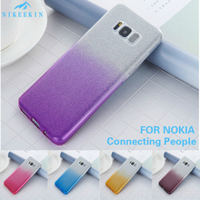 Bling Glitter Case for Nokia 7.1 Nokia 7 Plus Nokia 8 Nokia 9 Capa Nokia 6.1 Nokia 5.1 Plus Glitter Cover Nokia 3.1 Plus Coque nokia 108