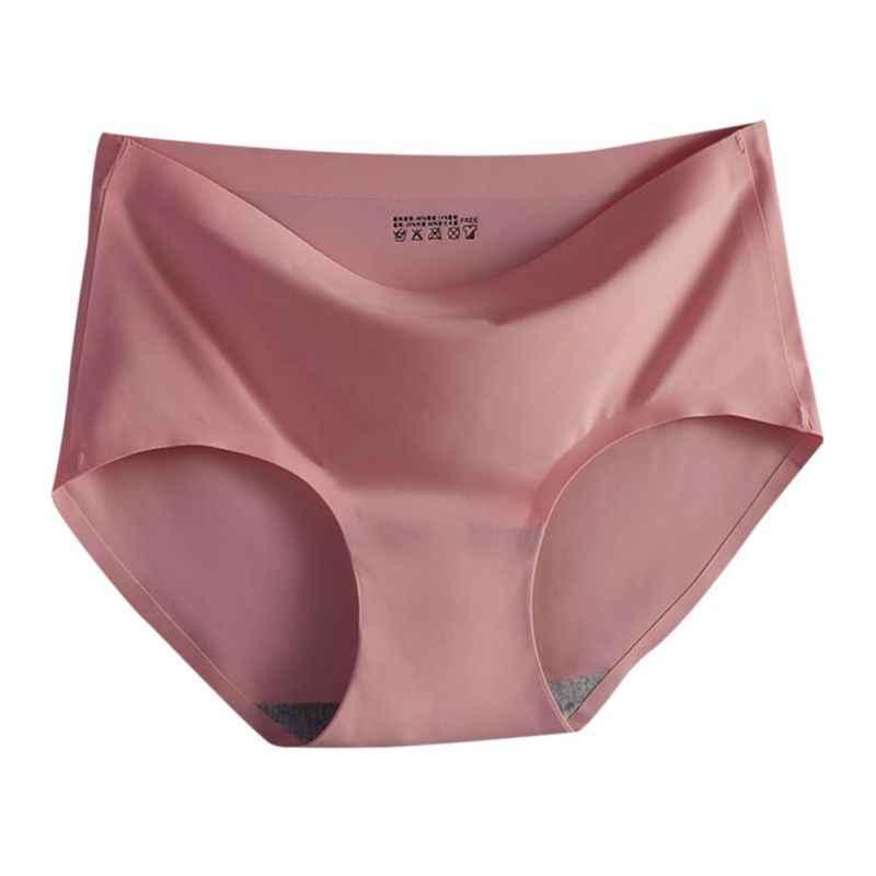 Meninas sem costura calcinha cuecas íntimas mulheres senhoras verão roupa interior