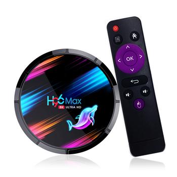 TV pudełko H96 Max X3 inteligentny telewizor z androidem TV pudełko S905X3 czterordzeniowy HD TV pudełko z systemem Android 9 0 2 4G 5G WiFi H 26 H96 Max X3 Smart TV Box TV pudełko tanie i dobre opinie docooler NONE 100 M CN (pochodzenie) Amlogic S905X Quad-core 64-bit 128 GB eMMC HDMI 2 0 4G DDR3 378g DC 5 V 2A Mail-G31 MP2