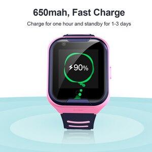 Image 5 - Smart watch torntisc para crianças, relógio inteligente com sistema sos, anti perda, cartão sim, 4g, gps, wifi, chamadas, localização, lbs, rastreamento