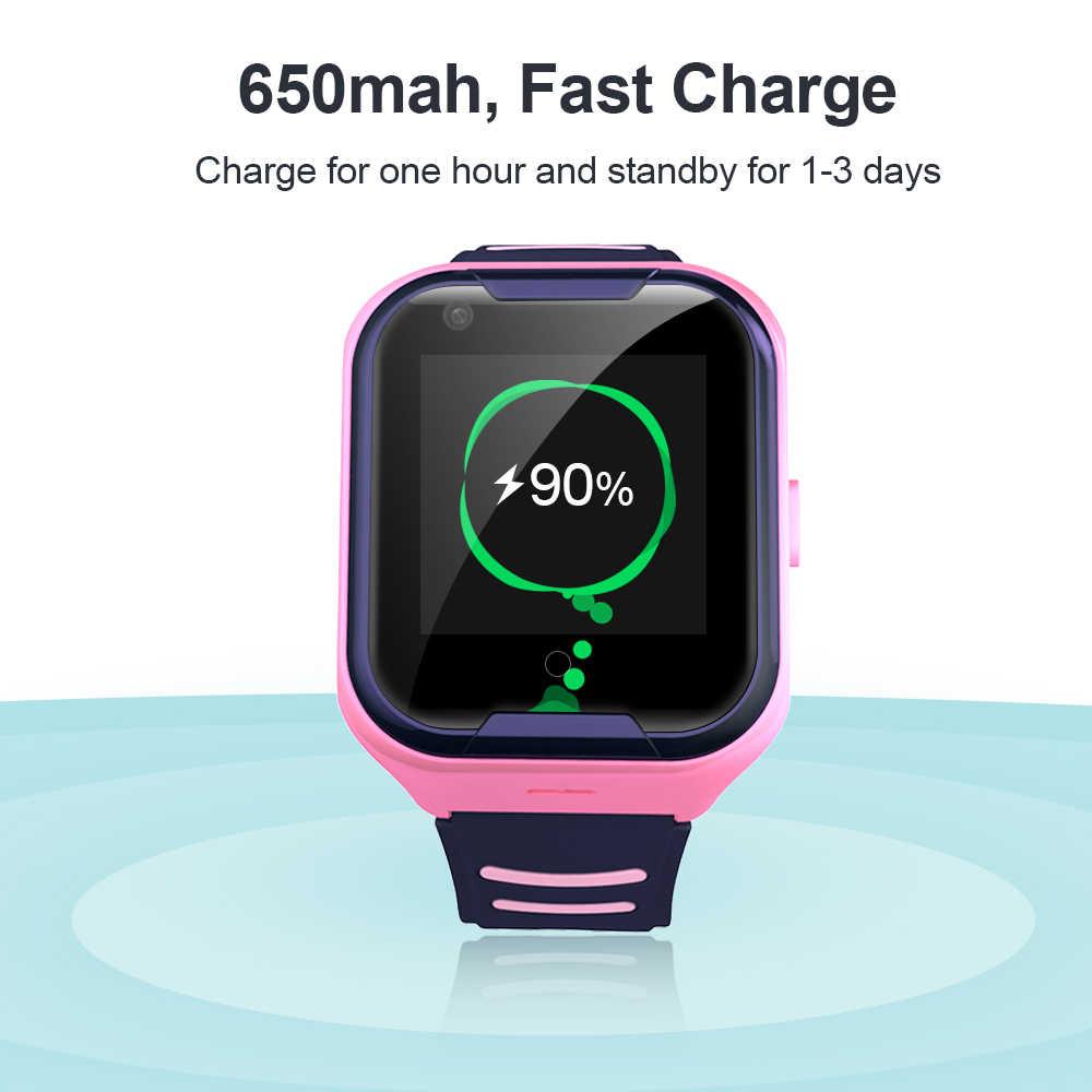 Torntisc Kids Smart Watch SOS Anti-lost Baby 4G SIM Card GPS WIFI Call Location LBS Tracking Smartwatch