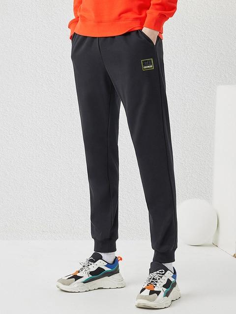 Pioneer Camp 2020 Spring New Jogger Pants Men 100%cotton Drawstring Comfortable Elastic Waist Sweatpants AZZ0107025 36
