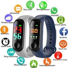 FXM Intelligent Sports Men Women Bracelet Heart Rate Sleep Monitoring Stepcounter Waterproof