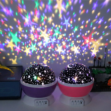 Novelty LED Luminous Toys Romantic Starry Sky LED Night Light Projector USB Night Light Creative Birthday Toys For Kid Products
