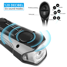 Bike Headlight Front Light 1500mAh 4Modes USB Flashlight LED Bicycle Waterproof Rechargeable Accessories