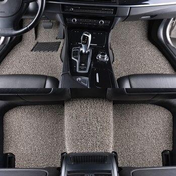 Custom car floor mat for PEUGEOT 206 207 301 307 408 308 308S 508 2008 5008 RCZ 308CC 308SW 607 3008 4008 Interior Accessories
