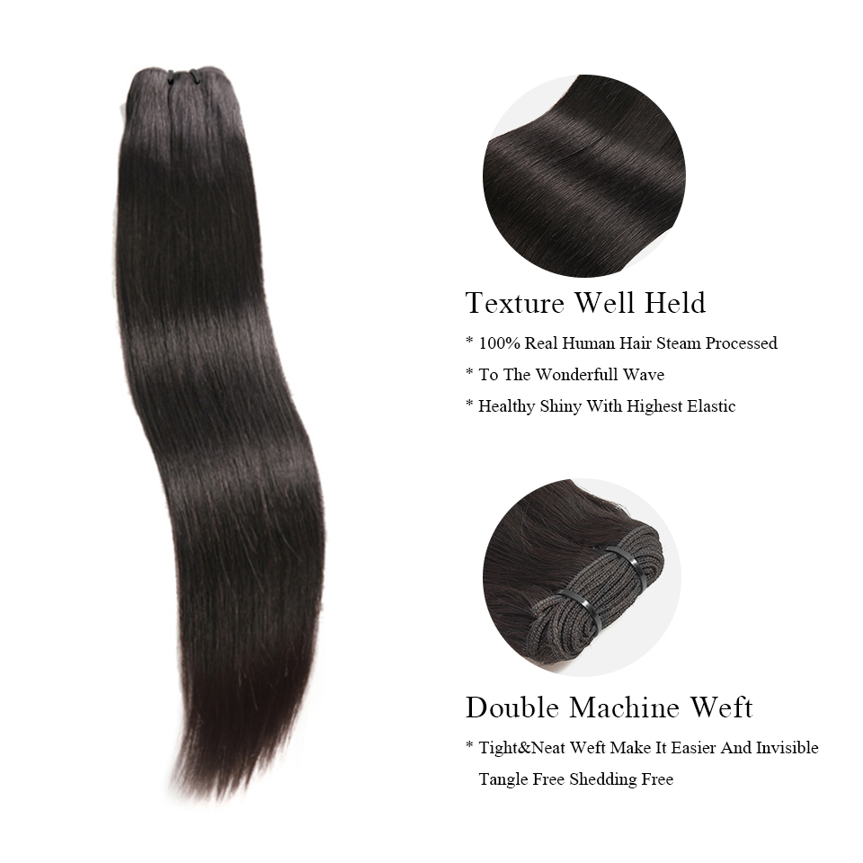 Djsbeauty pacote de cabelo natural com ondas,