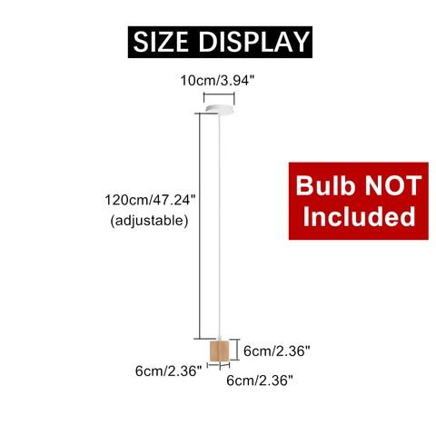 pingente 85 265 v pendurado pingente lampada barra