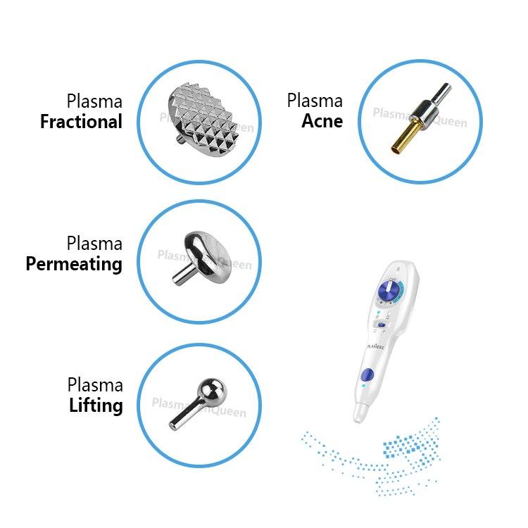 Tip For Plamere Plasma Pen Battery Acne Lifting Fractional  Bending Needles