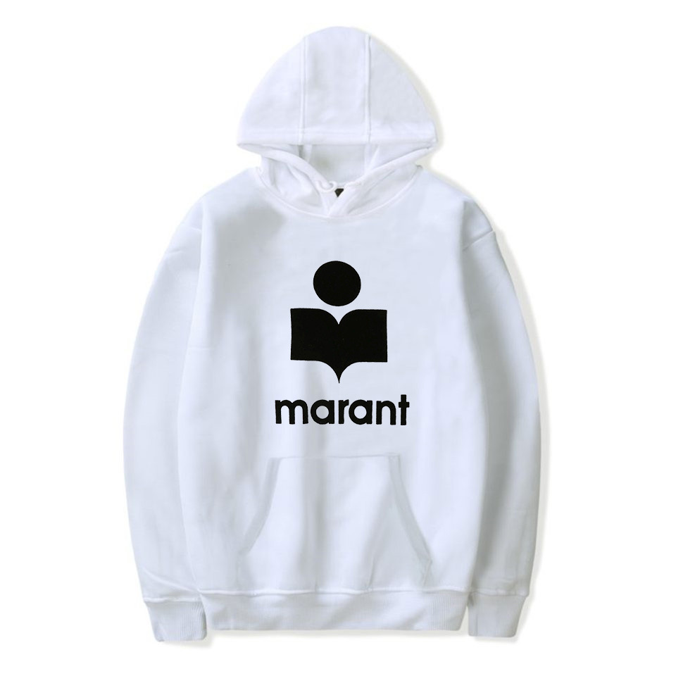 Popular Brand Printed Lettered Marant Printed Fleece Thick Hooded Sweater Women's AliExpress Separate Station