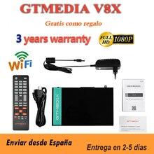 DVB-S2 Satellite-Receiver Form-Freesat Gtmedia V8 Honor V8x/nova Support Wifi H.265 Built-In