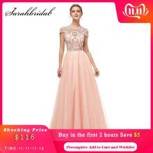 Mới Chính Thức 3 Lớp Váy Đầm Dạ Dài 2020 Nữ Voan Nắp Tay Chiếu Trúc Hạt Dự Tiệc Dạ Hội Đảng Áo Choàng Áo Dây De soiree 5222