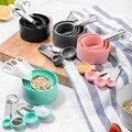 4 шт./компл. мерная ложечка для кофе, кухонные принадлежности для приготовления пищи, Новый Прочный набор измерительных приборов из нержавею...