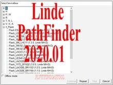 Linde PathFinder v3.6.2.11 [01.2020] forklift truck Diagnostic software diagnosis program diagnose manual exclude canbox & cable
