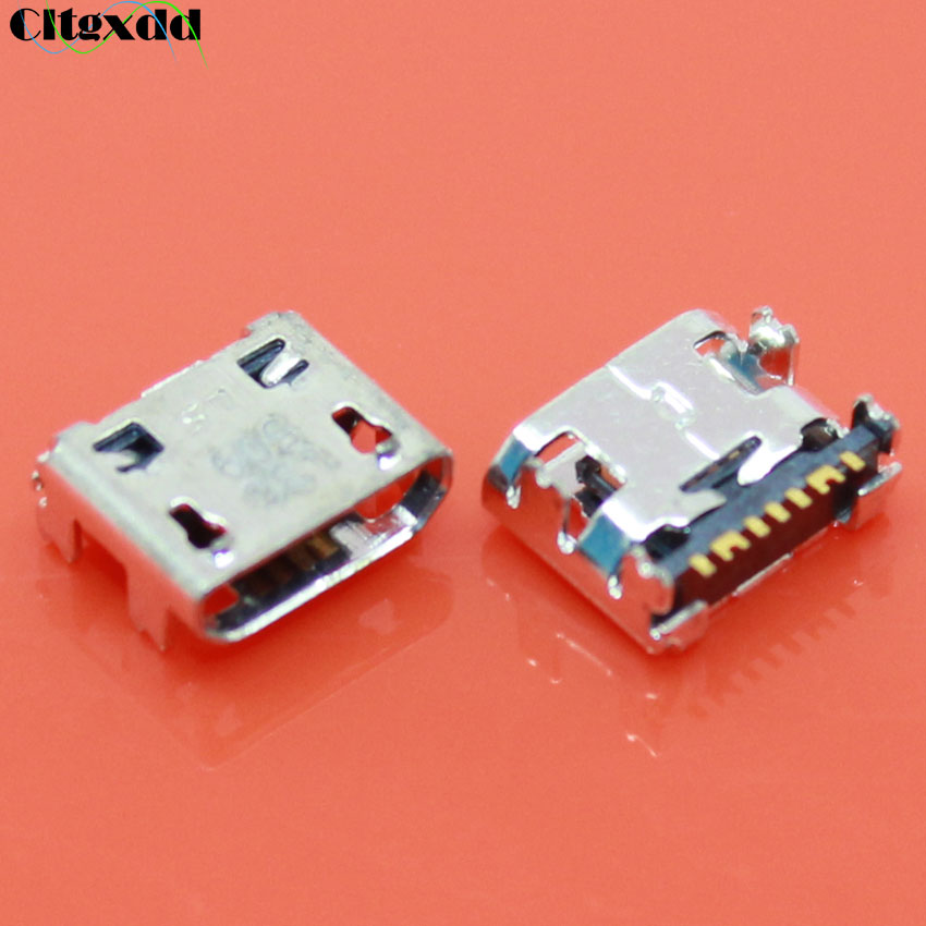 100PCS Micro USB Jack 7Pin Female Charging Port Connector For Samsung Galaxy G313 A8 A8000 A800F J1 J120 J210F C3590 S7390 S6810