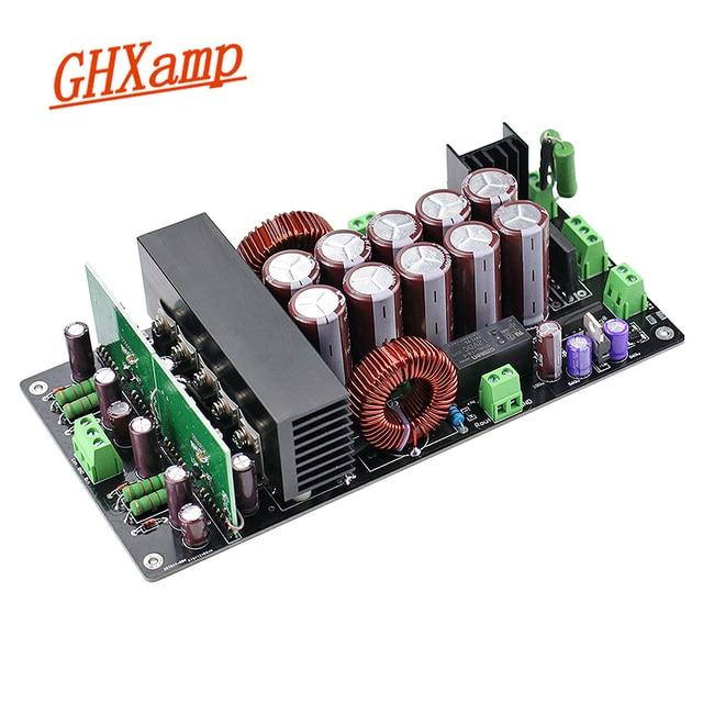 Irs2092 amplificador de áudio 800w + 800w, placa para amplificador de áudio, classe d, canal duplo, hifi amp to220 rectificador de proteção