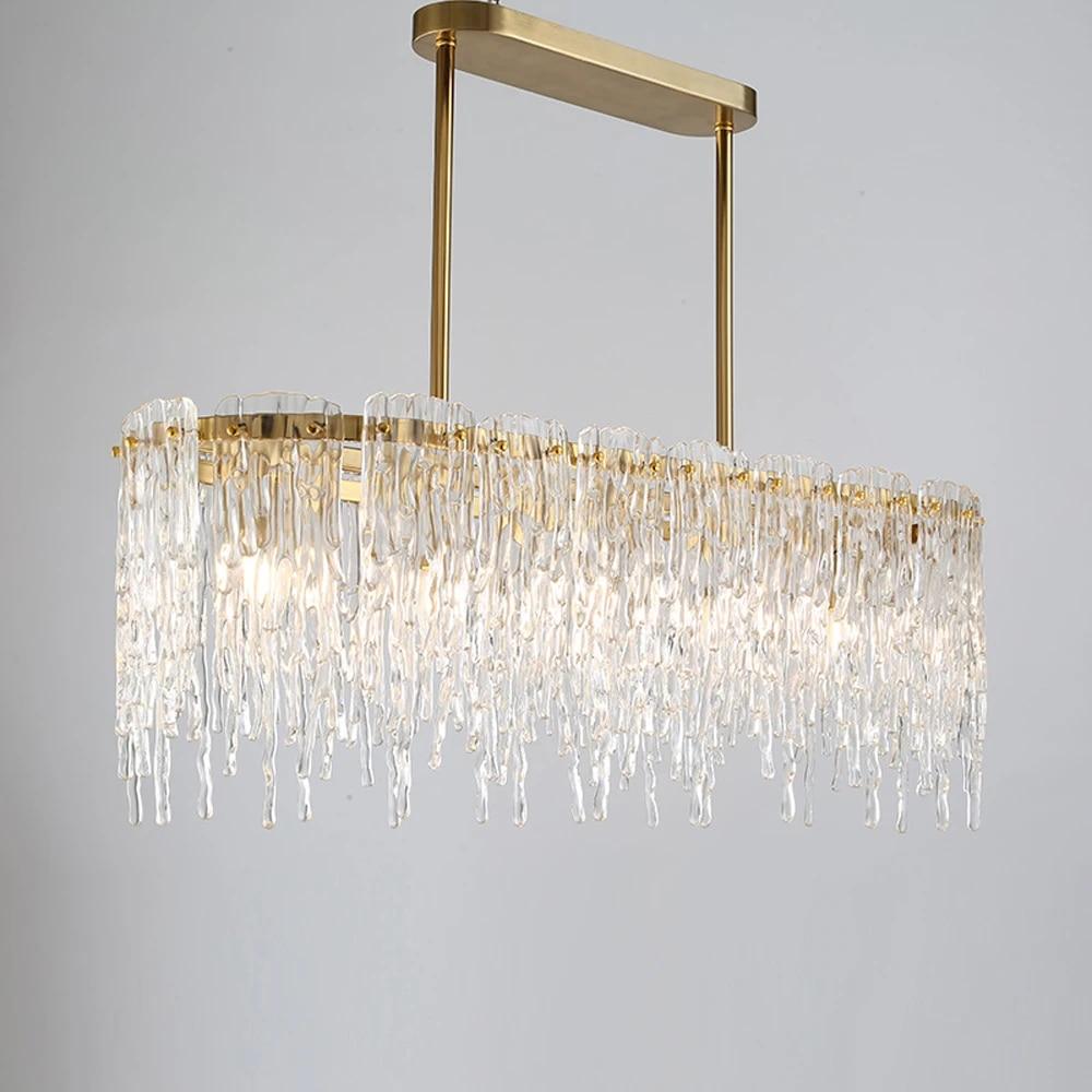 lukloy copper lamp modern foyer lights for dining room kitchen hanging light loft hanging lamp restaurant fixtures luxury lamps