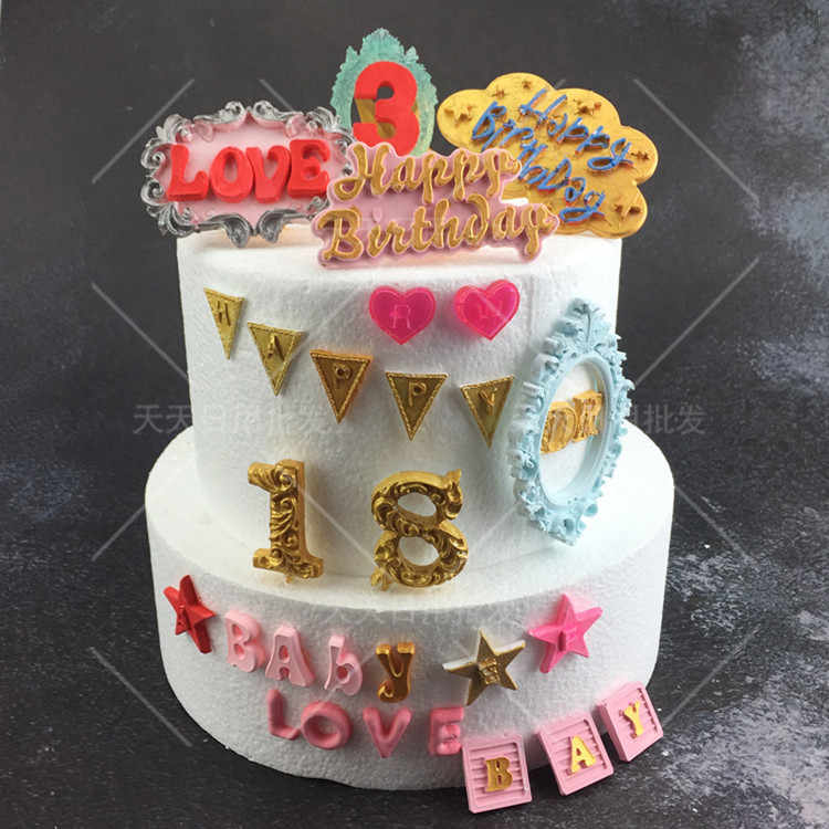 Prime Numbers 3D Silicone Mold For Fondant Cake Chocolate Lollipop Mould Personalised Birthday Cards Epsylily Jamesorg