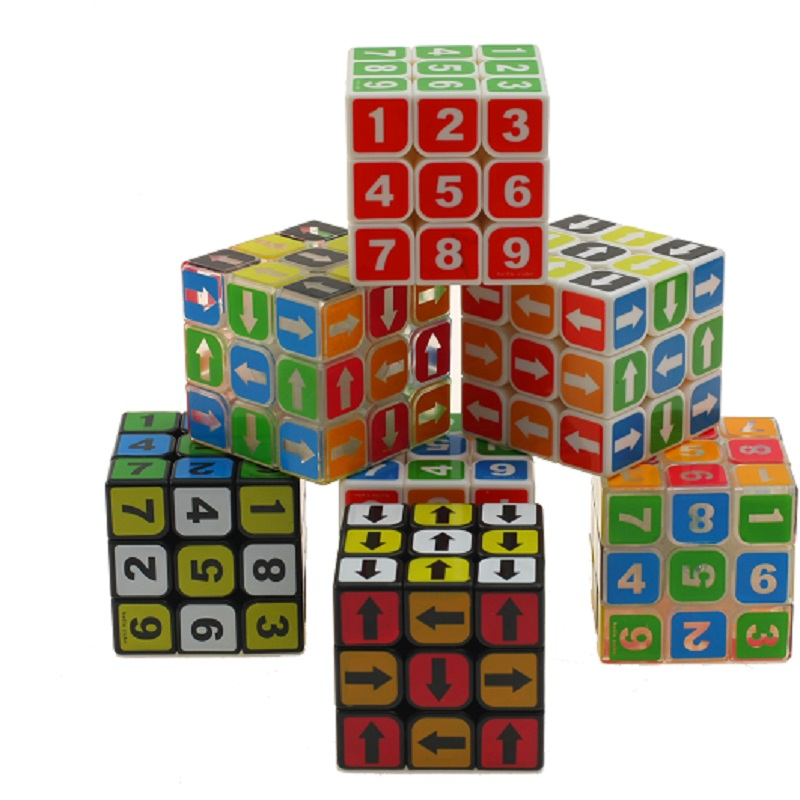 Zcube Sodoku 3x3x3 Magic Cube Boys Toy Stickerless Puzzle Neo Cube Sudoku Magic Cube Puzzle Toys For Competition Challenge