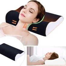 1 шт. Ортопедическая подушка с эффектом памяти, латексная подушка для шеи, мягкая подушка с медленным отскоком, массажер для шейного отдела, забота о здоровье
