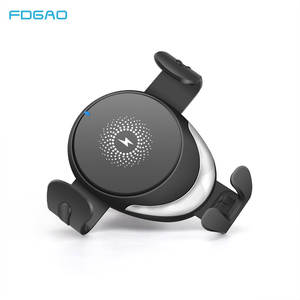 FDGAO Qi 15W Wireless Charger Car Mount Stand for iPhone 11 Pro Max XS XR X 8 Samsung S9 S10 Note 10 9 Quick Charge Phone Holder