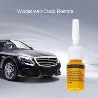 New Automotive Glass Repair Fluid Kit Car Window Windshield Glass Crack Chip Repair Tool Kit Car Universal Wash Maintenance 5