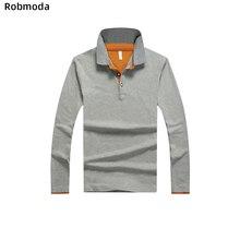 New Solid Color Summer Polo Shirts Men Long sleeve Brand Polos para hombre Plus Size S-3XL eden park homme Business Casual Hemd поло eden park eden park ed009emzfs30